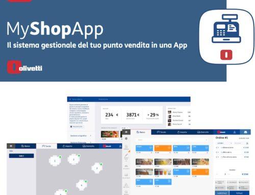 Sistemi Gestionali negozi con Android App Olivetti